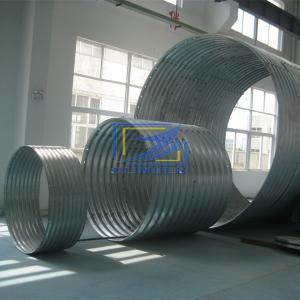corrugated steel culvert pipe widely used for culvert and small bridage